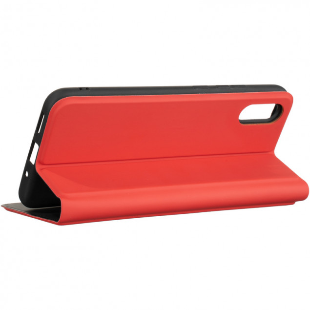 Book Cover Gelius Shell Case for Xiaomi Redmi 9a Red