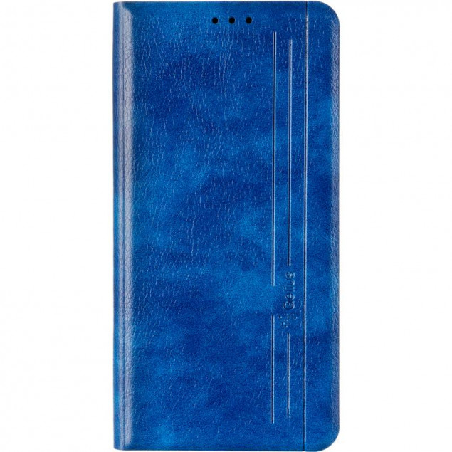 Book Cover Leather Gelius New for Xiaomi Redmi 8 Blue
