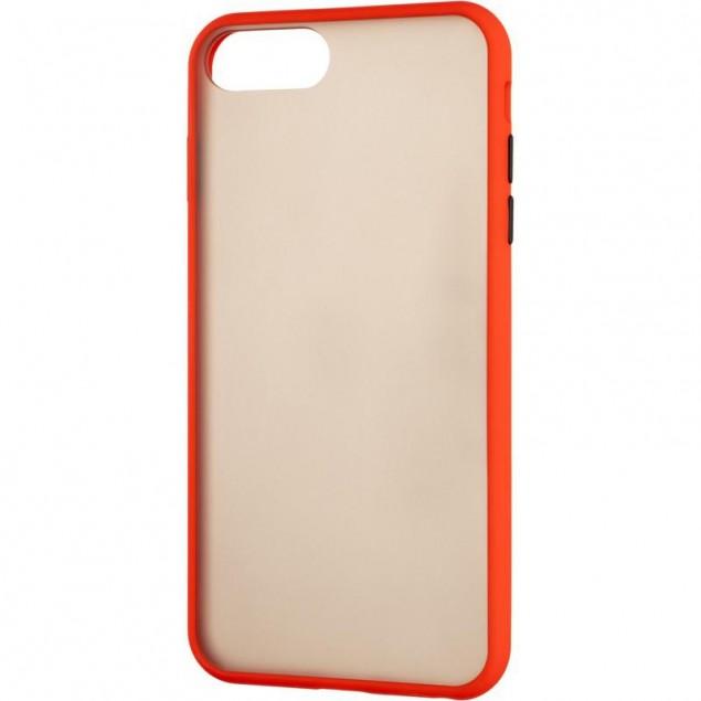 Gelius Bumper Mat Case for iPhone 7 Plus/8 Plus Red