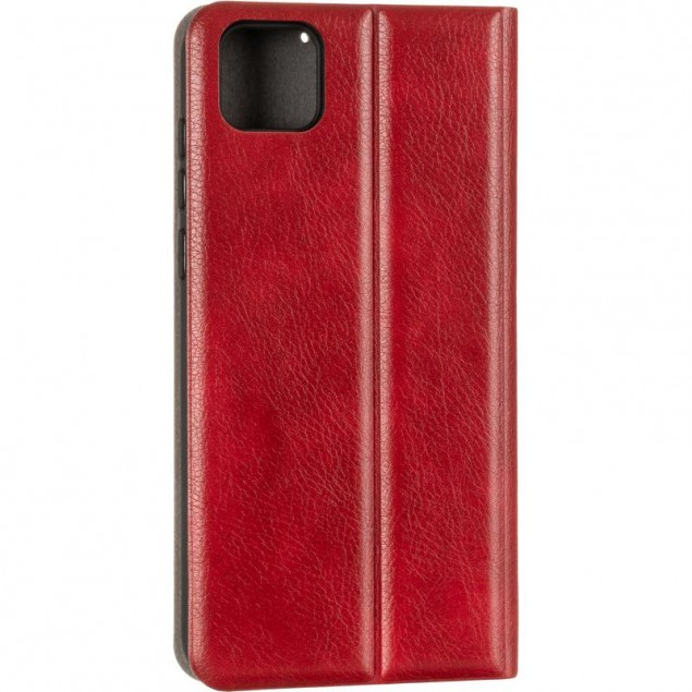 Book Cover Leather Gelius New for Huawei Y5P Red