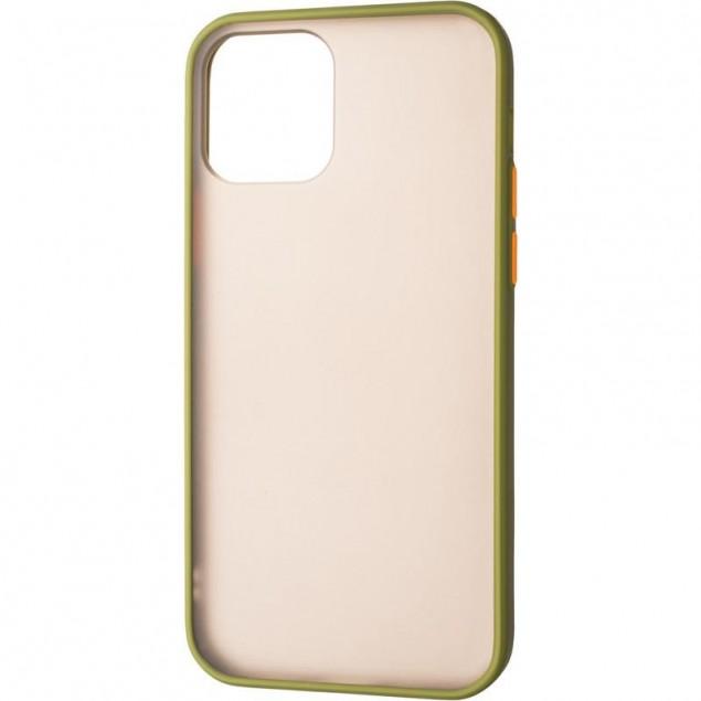 Gelius Bumper Mat Case for iPhone 12/12 Pro Green