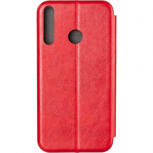 Book Cover Leather Gelius for Huawei P40 Lite E Red