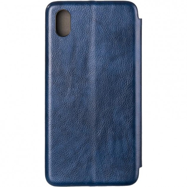 Book Cover Leather Gelius for Xiaomi Redmi 7a Blue