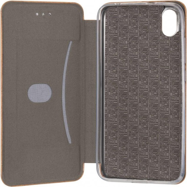 Book Cover Leather Gelius for Xiaomi Redmi 7a Gold