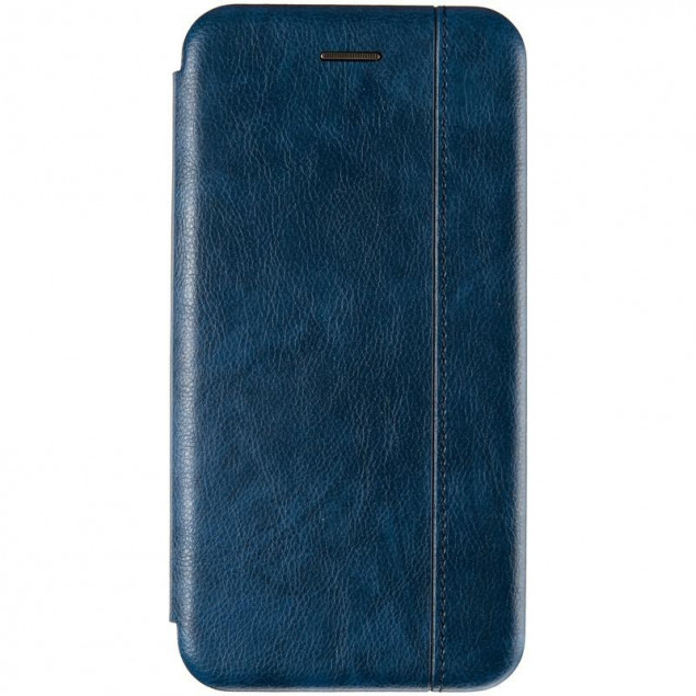 Book Cover Leather Gelius for Xiaomi Redmi Note 8 Blue