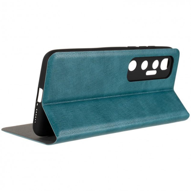 Book Cover Leather Gelius New for Xiaomi Mi 10 Ultra Green