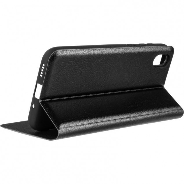 Book Cover Leather Gelius New for Huawei Y5 (2019) Black