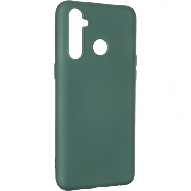 Full Soft Case for Realme 5 Pro Dark Green