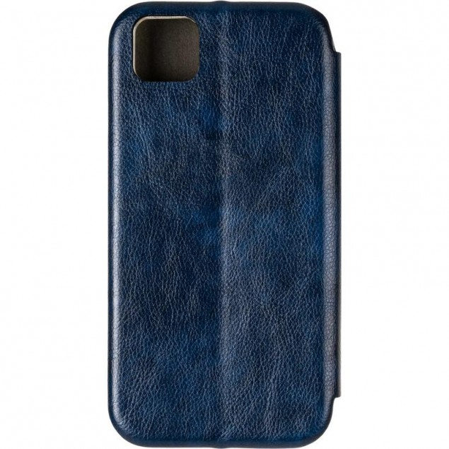 Book Cover Leather Gelius for Huawei Y5P Blue
