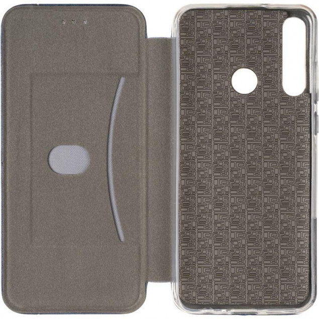 Book Cover Leather Gelius for Huawei Y6P Blue