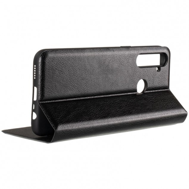Book Cover Leather Gelius New for Realme 5 Black