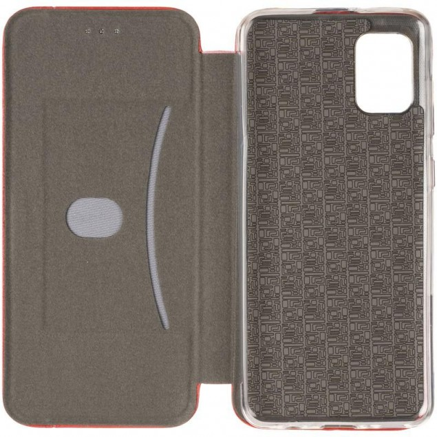 Book Cover Leather Gelius for Samsung A315 (A31) Red