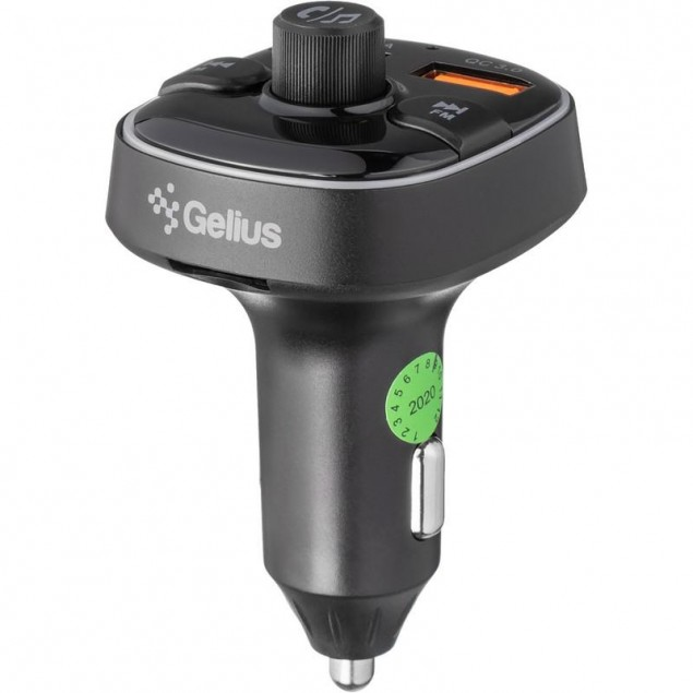 FM Modulator Gelius Pro RGB-QC GP-FMT050 (12 мес)