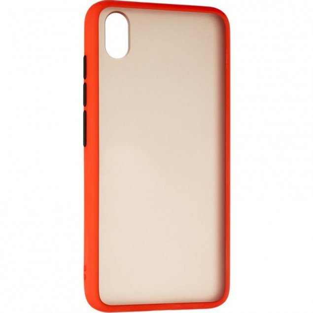 Gelius Bumper Mat Case for Xiaomi Redmi 7a Red