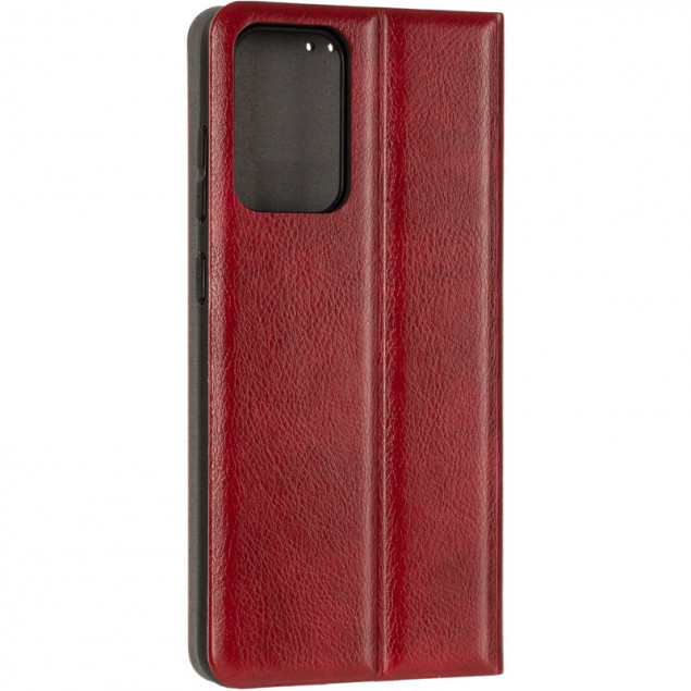 Book Cover Leather Gelius New for Samsung A725 (A72) Red