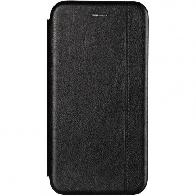 Book Cover Leather Gelius for Huawei Y7 (2019) Black