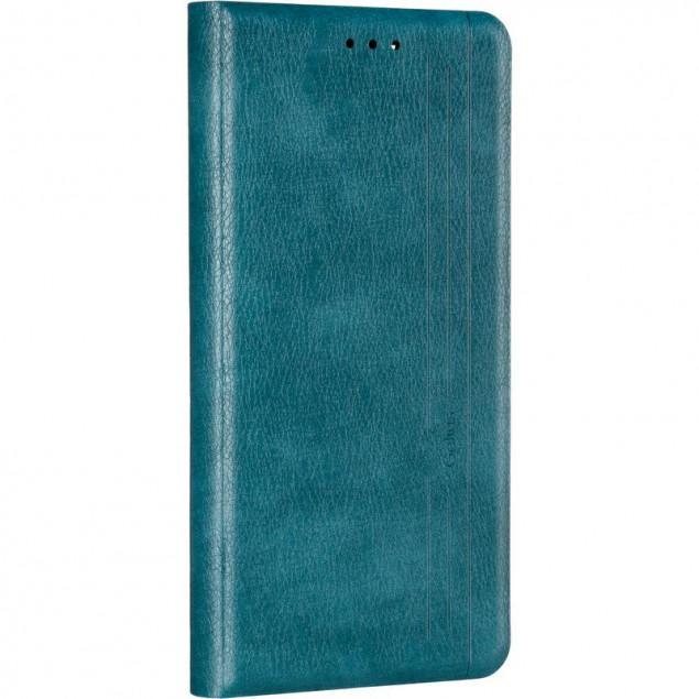 Book Cover Leather Gelius New for Samsung A125 (A12) Green