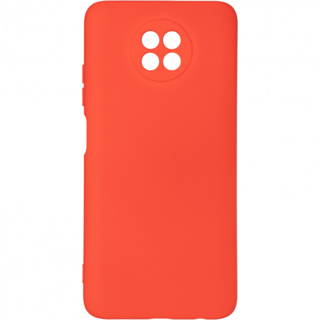 Full Soft Case for Xiaomi Redmi Note 9T Red