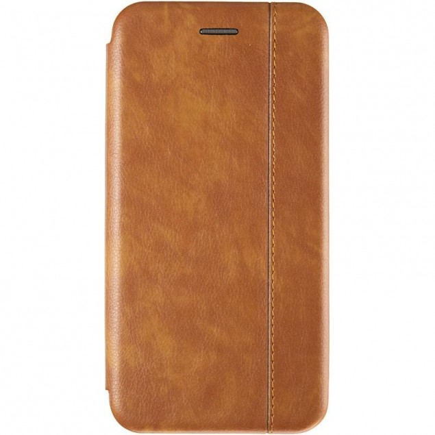 Book Cover Leather Gelius for Samsung M205 (M20) Gold