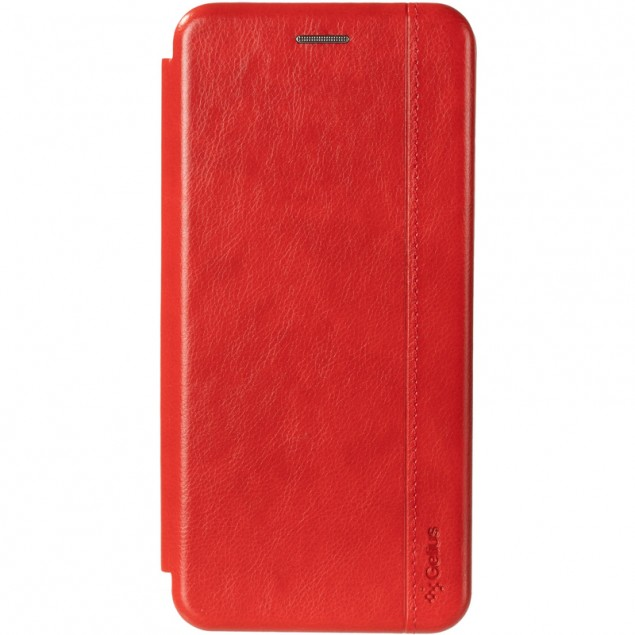 Book Cover Leather Gelius for Nokia 5.3 Red