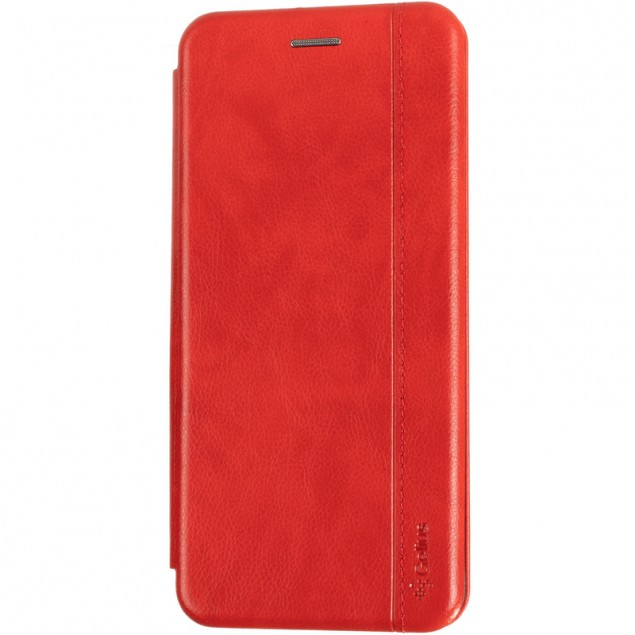 Book Cover Leather Gelius for Nokia 2.4 Red