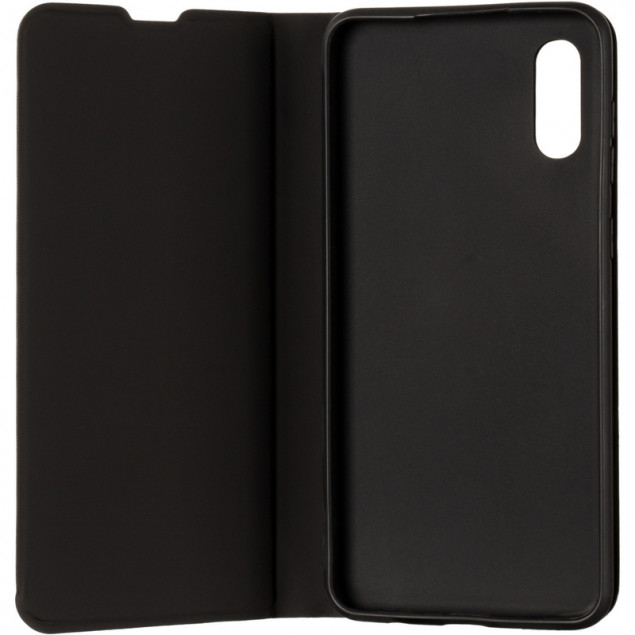 Book Cover Gelius Shell Case for Samsung A022 (A02) Black