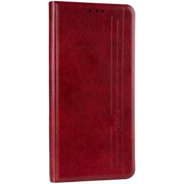 Book Cover Leather Gelius New for Samsung A515 (A51) Red