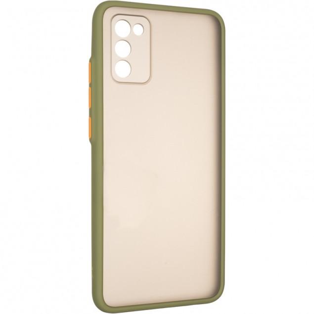 Gelius Bumper Mat Case for Samsung A025 (A02s) Green