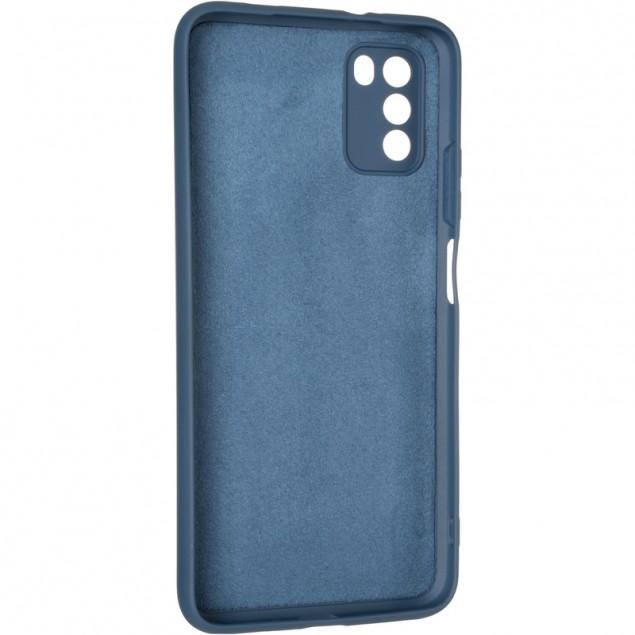 Full Soft Case for Xiaomi Poco M3 Dark Blue