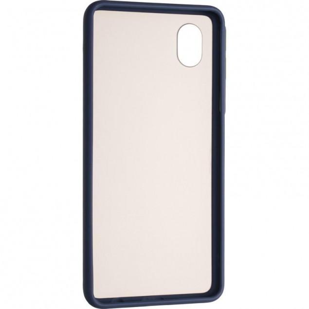 Gelius Bumper Mat Case for Samsung A013 (A01 Core) Blue