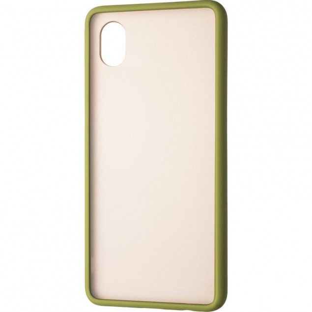 Gelius Bumper Mat Case for Samsung A013 (A01 Core) Green
