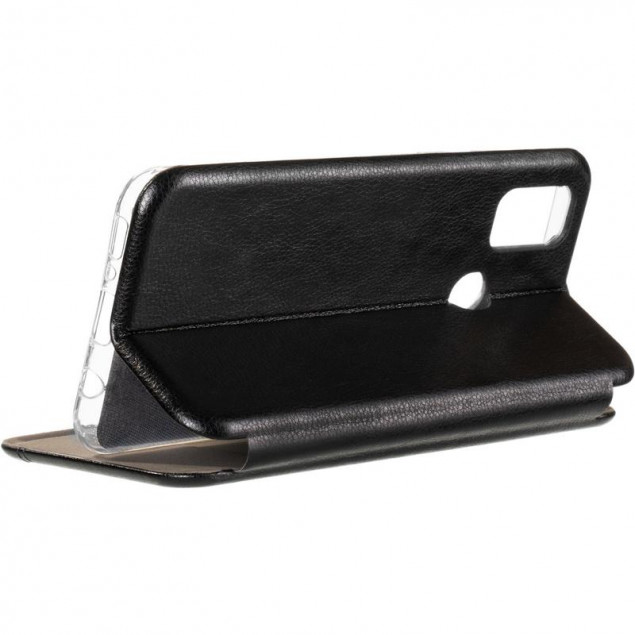 Book Cover Leather Gelius for Samsung M215 (M21) Black