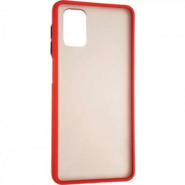 Gelius Bumper Mat Case for Tecno Camon 16 Red