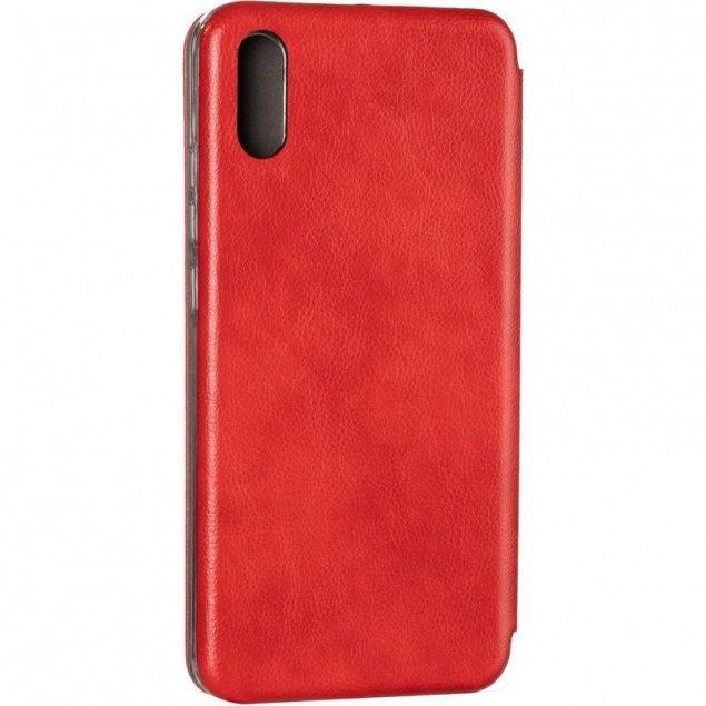 Book Cover Leather Gelius for Xiaomi Redmi 9a Red