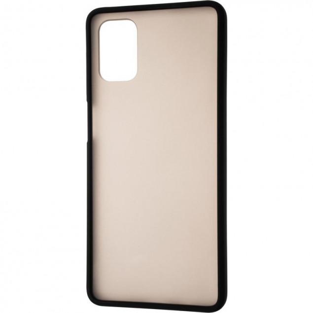 Gelius Bumper Mat Case for Samsung M515 (M51) Black