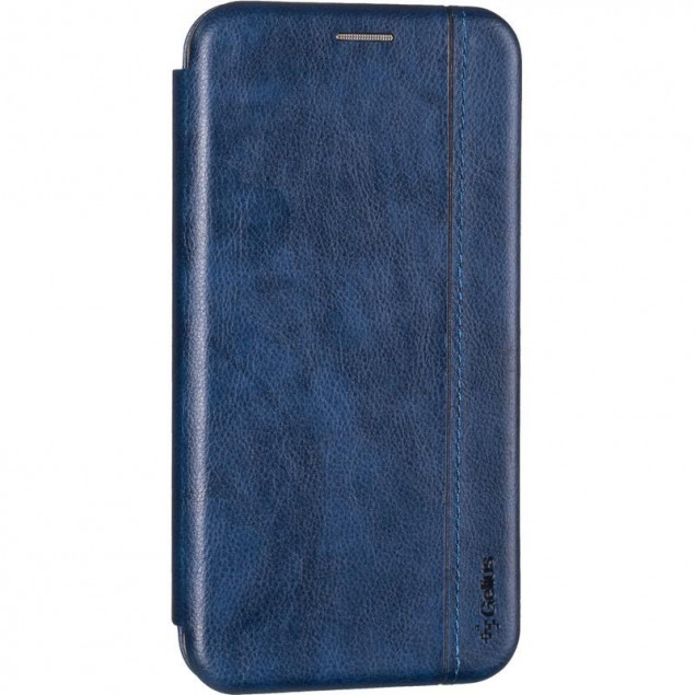 Book Cover Leather Gelius for Huawei P40 Lite E Blue