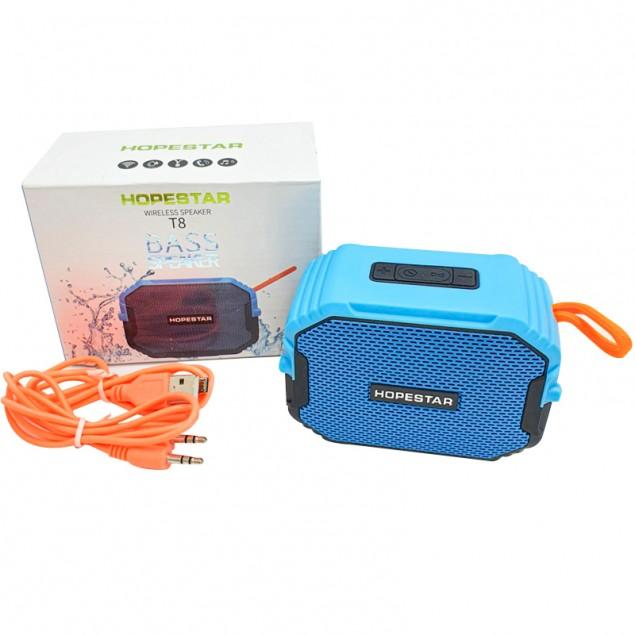 Bluetooth Колонка Hopestar T8 Blue