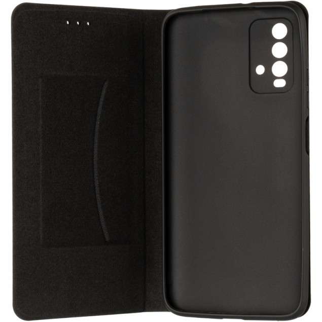Book Cover Leather Gelius New for Xiaomi Redmi 9T Black