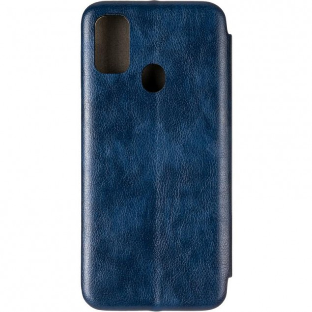 Book Cover Leather Gelius for Samsung M307 (M30s)/M215 (M21) Blue