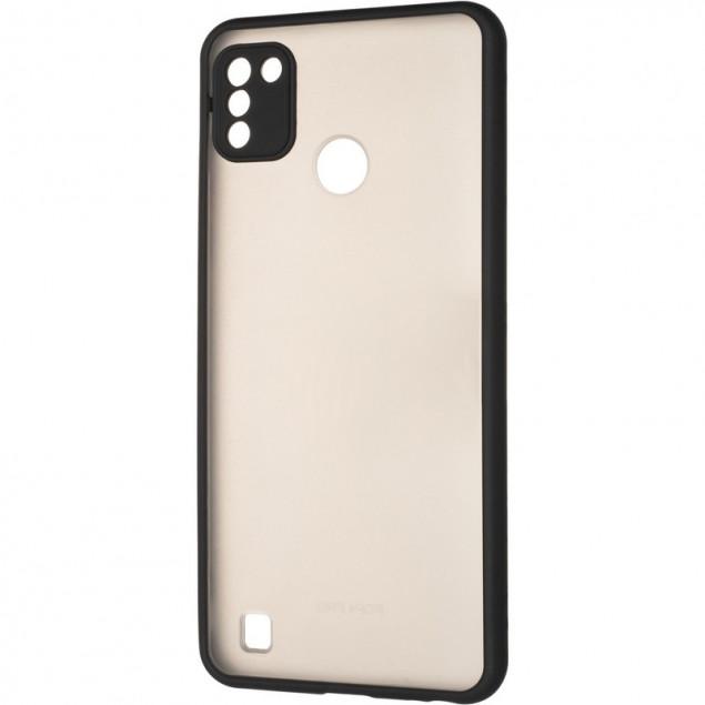 Gelius Bumper Mat Case for Tecno Pop 4 Pro Black