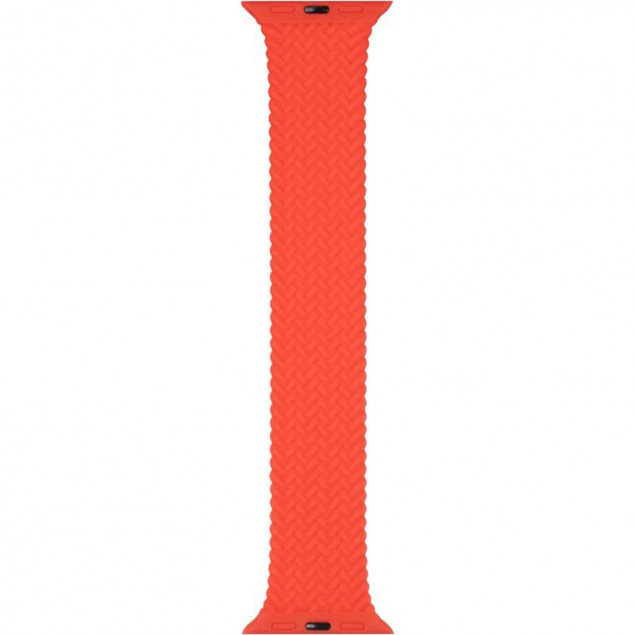 Braided Solo Loop Band for Apple Watch 38/40mm (L size) Red