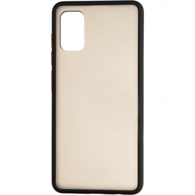 Gelius Bumper Mat Case for Samsung A415 (A41) Black