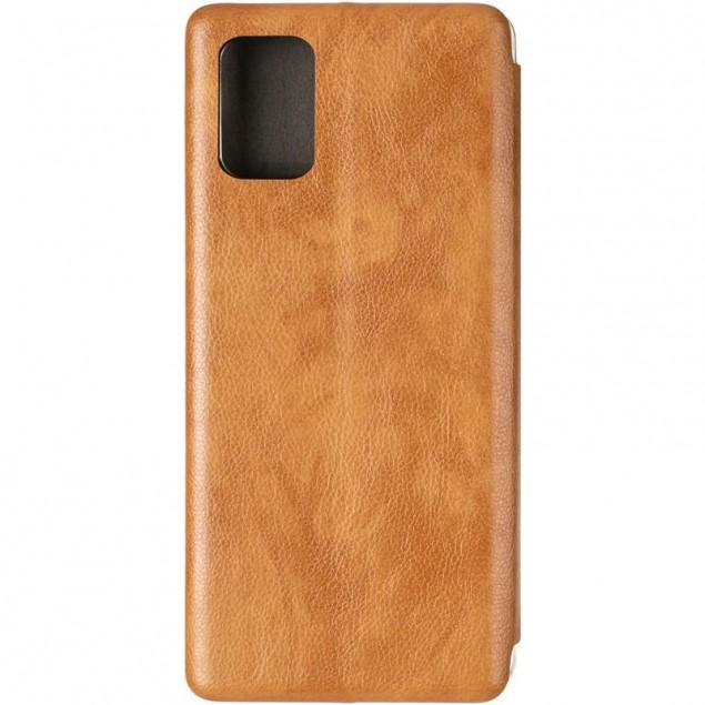 Book Cover Leather Gelius for Samsung A715 (A71) Gold