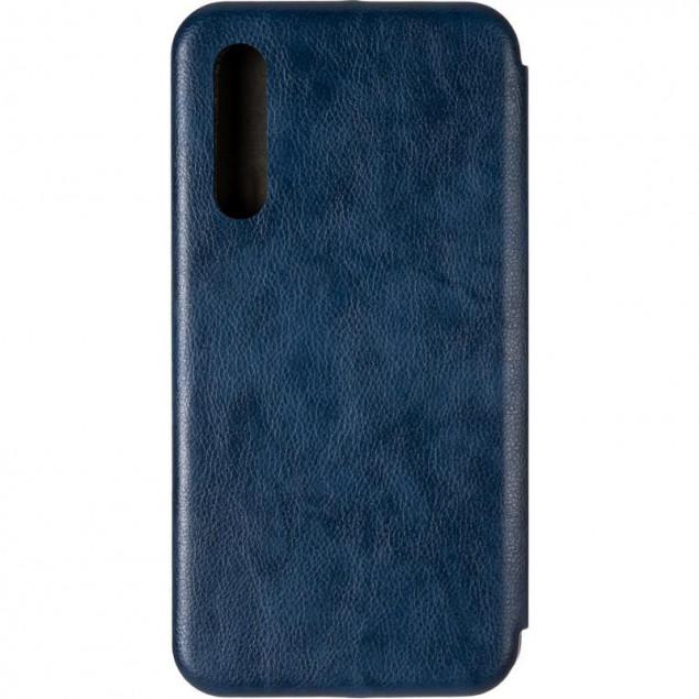 Book Cover Leather Gelius for Xiaomi Mi9 Blue