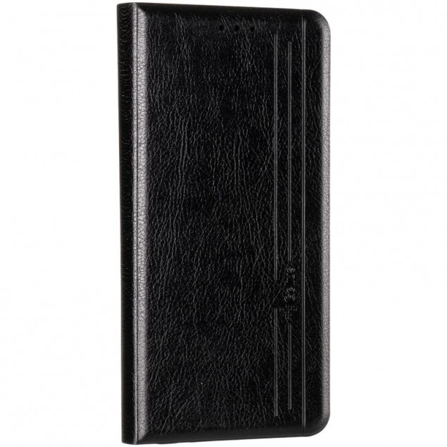 Book Cover Leather Gelius New for Realme 7 Pro Black