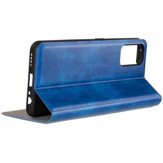Book Cover Leather Gelius New for Realme 7 Pro Blue