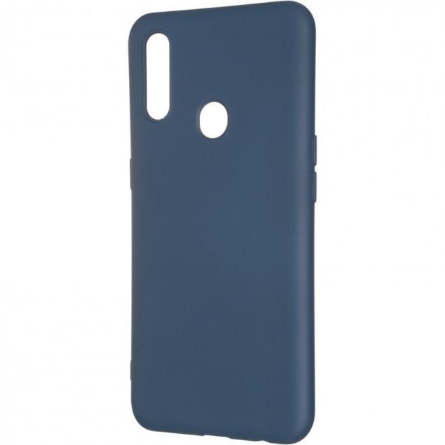 Full Soft Case for Oppo A31 Blue