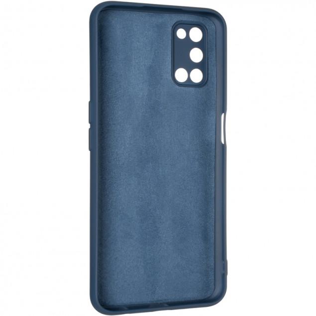 Full Soft Case for Oppo A52 Blue