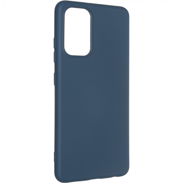 Full Soft Case for Samsung A326 (A32) Blue