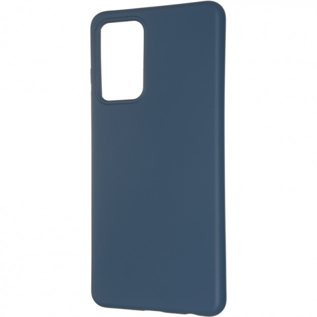 Full Soft Case for Samsung A525 (A52) Blue